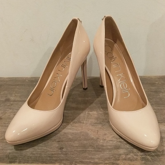 2f2cb859866 Calvin Klein Shoes - Calvin Klein nude pumps
